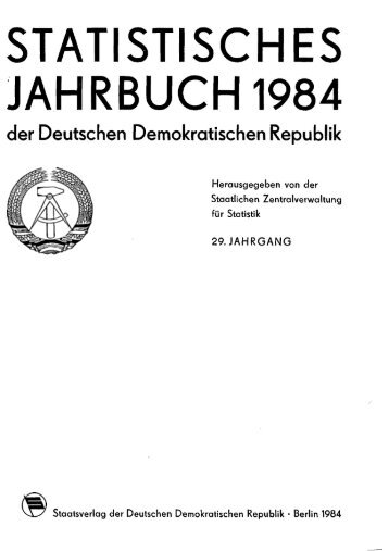 East Germany Yearbook - 1984_ocr