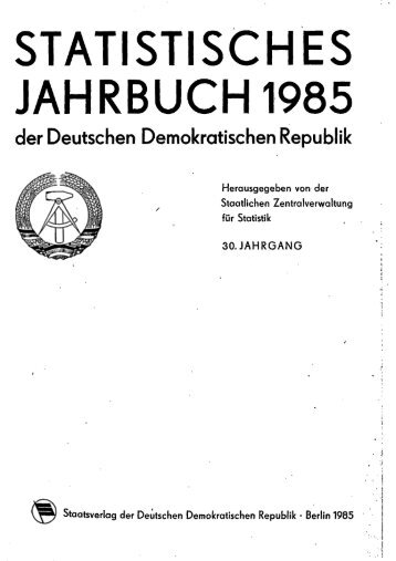 East Germany Yearbook - 1985_ocr
