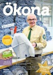 Ökona - das Magazin für natürliche Lebensart: Ausgabe Winter 2017/18