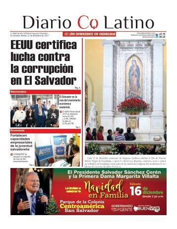 Edición 12 de diciembre de 2017