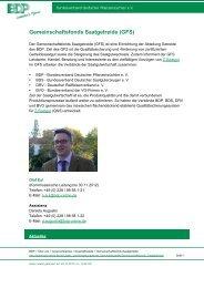 Gemeinschaftsfonds Saatgetreide (GFS) - Bundesverband ...