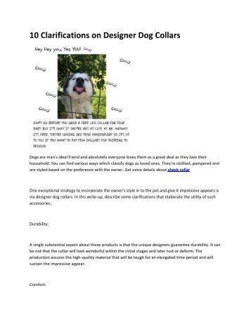 5 dog collars