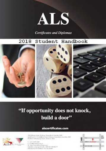 Student Handbook 2018 rto final