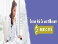 Emma Mail Support Number 18002430019 For Instant Help