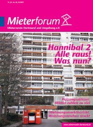 Mieterforum Dortmund - Ausgabe IV/2017 (Nr. 50)
