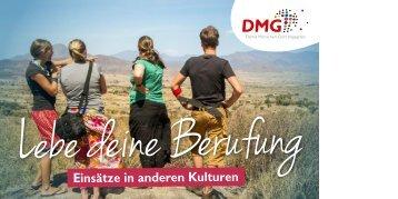 Lebe deine Berufung // DMG-Einsätze in anderen Kulturen