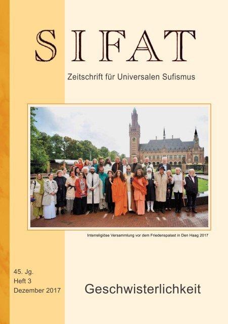 SIFAT - Zeitschrift für Universalen Sufismus - 2017 Heft 3 - Dezember (Leseprobe)