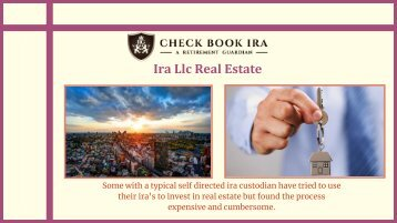 Self Directed Ira Llc Rules | Checkbook Ira Llc