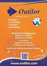 OUTILOR LYON FRANCE - CATALOGUE 2017- NOVEMBRE