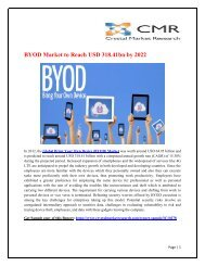 Bring Your Own Device (BYOD) Market