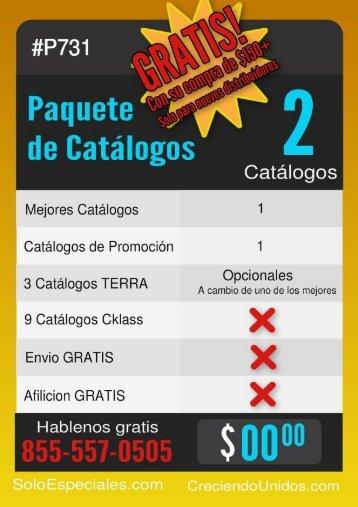 Paquetes de Catalogos - Mas de 30 diferentes catalogos