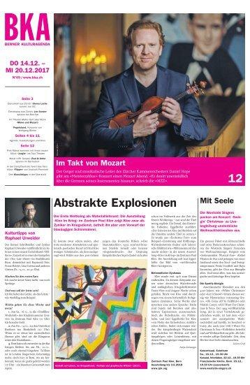 Berner Kulturagenda 2017 N° 49