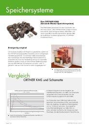 ORTNER Speicher-Systeme, Der KMS-240, KMS-300 und der KAM