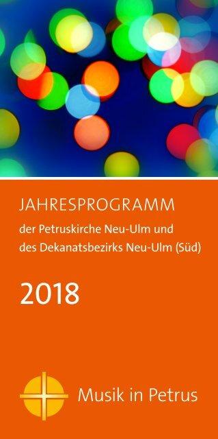 Musik in Petrus 2018