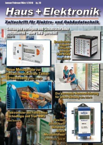 Haus+Elektronik 1-2018