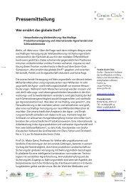 Pressemitteilung - Bundesverband Deutscher Pflanzenzüchter e.V.