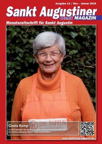 Sankt Augustiner Stadtmagazin, Ausgabe 12/ Dez. 2017 - Jan. 2018