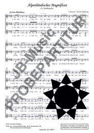 Alpenländisches Magnificat (für Frauenchor SSA)