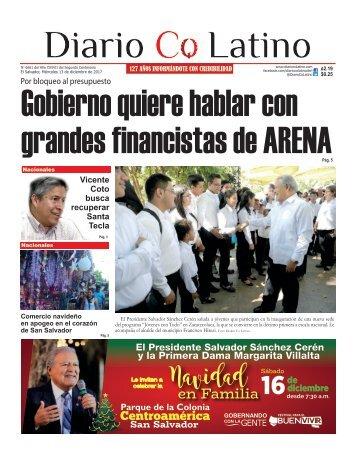 Edición 13 de diciembre de 2017