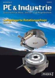 Industrie-PCs - beam - Elektronik & Verlag