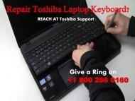 Repair Toshiba Laptop Keyboard