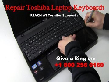 Repair Toshiba Laptop Keyboard