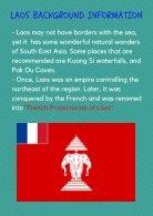 Laos Brochure - Page 3
