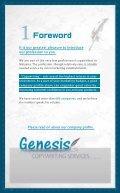 Genesis profile - Page 2
