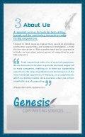 Genesis profile - Page 4