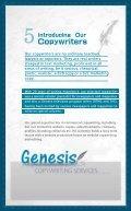 Genesis profile - Page 6