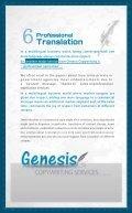 Genesis profile - Page 7