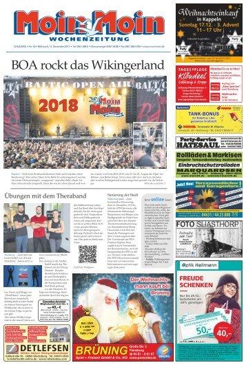 MoinMoin Schleswig 50 2017