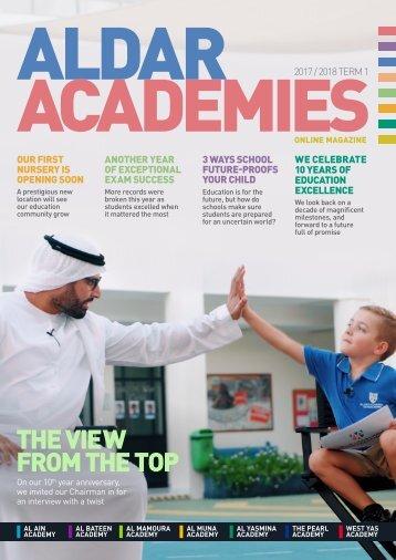 Aldar Academies Online Magazine 2017/2018 Term 1