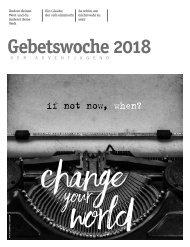 Jugendgebetslesung 2018 web