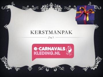 Kerstmanpak - e-carnavalskleding