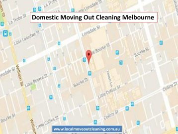 Domestic Moving Out Cleaning Melbourne