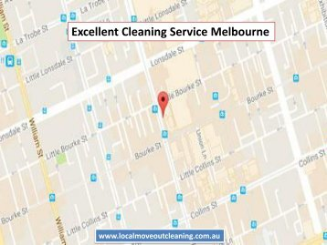 Excellent Cleaning Service Melbourne