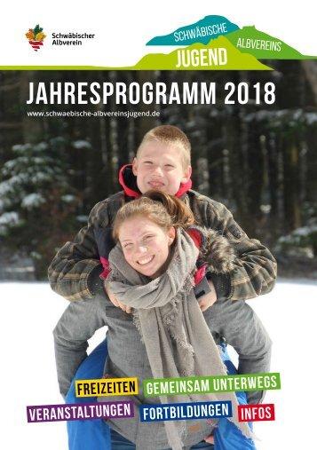 Jahresprogramm Albvereinsjugend 2018