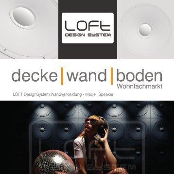 LOFT DesignSystem Modell Speaker 11