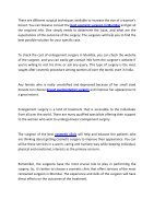 Breast Enlargement Surgery For An Attractive Body - Page 2