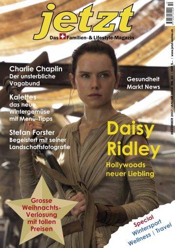 Jetzt – Das Schweizer Familien- & Lifestyle Magazin – Dezember 2017