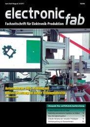 Fachzeitschrift für Elektronik-Produktion - beam - Elektronik & Verlag