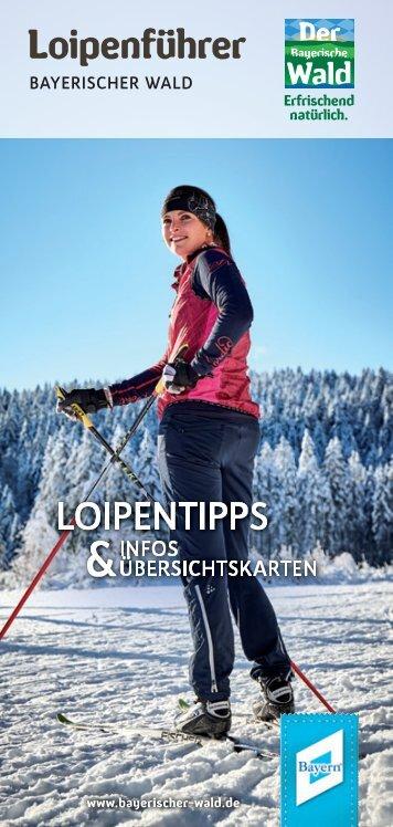 Loipenfuehrer Bayerischer Wald