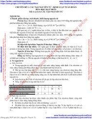 GIÁO ÁN ÔN TẬP HÓA HỌC 10