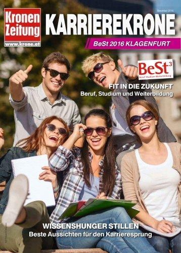 Karriere Krone BeSt Klagenfurt 2016-11-19
