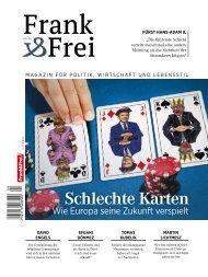 Leseprobe Magazin Frank&Frei 04/2017