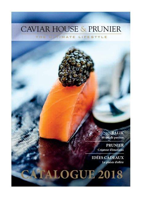 Caviar House & Prunier Catalogue 2018