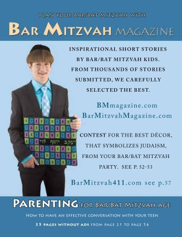 Bar Mitzvah Magazine 2010