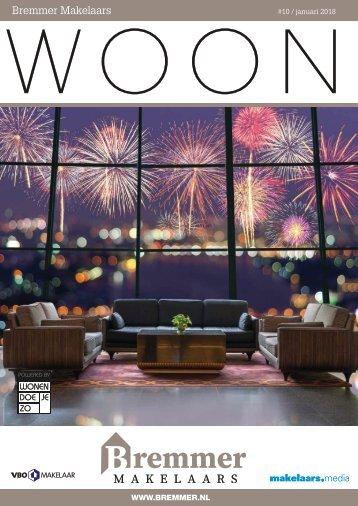 Bremmer Makelaars WOON magazine, januari 2018