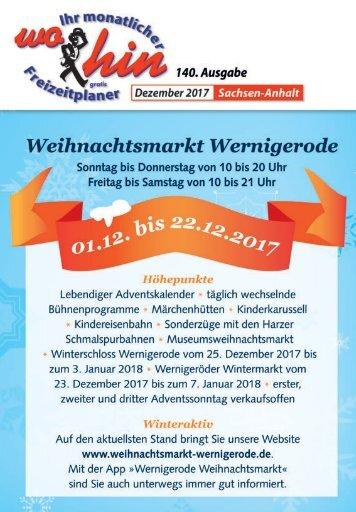 Freizeitplaner für Sachsen-Anhalt